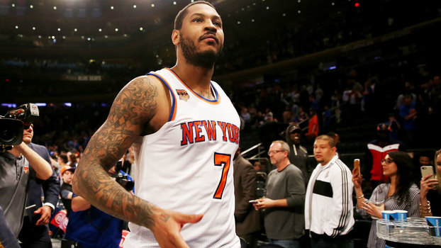 Carmelo Anthony vai para os Oklahoma City Thunder