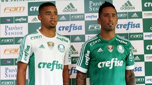 d5dd77efcb22d Palmeiras apresenta camisa para 2016