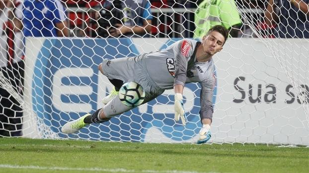 Cleiton defendeu três pênaltis na final da Copa do Brasil sub-20