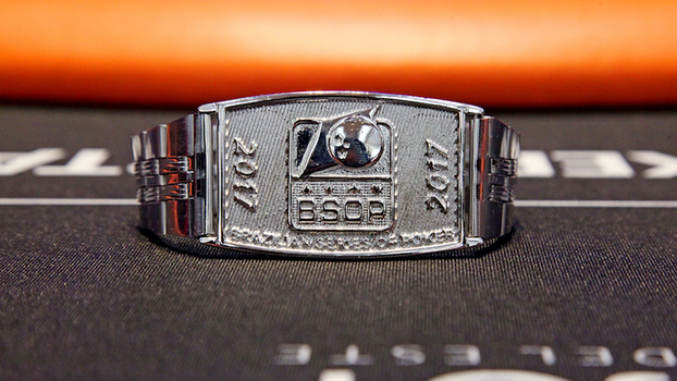 Bracelete de campeão do Main Event da Brazilian Series Of Poker