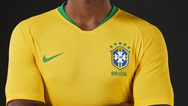 ce2d98e11a facebook · twitter · pinterest  comment. Nova camisa da seleção para a Copa  do Mundo da Rússia foi lançada