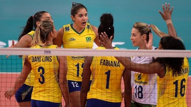O Brasil estreou com vitória no Grand Prix