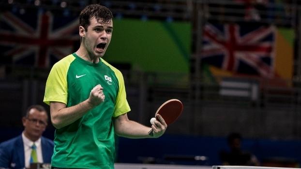 Brasileiro Israel Stroh conquistou medalha inédita nos Jogos Paralímpicos do Rio