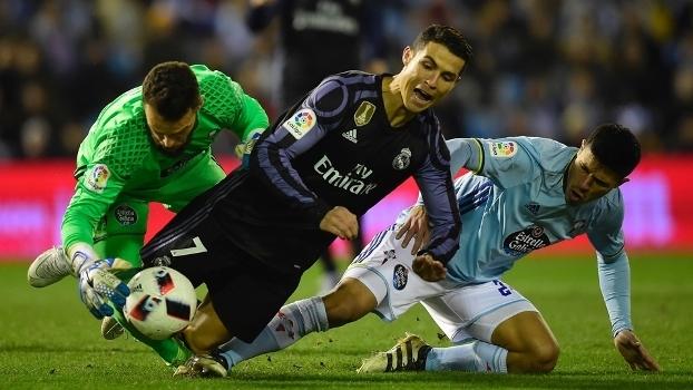Cristiano Ronaldo Real Madrid Celta 25/01/2017