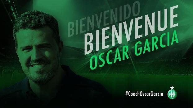 Óscar García é o novo técnico do Saint-Etienne