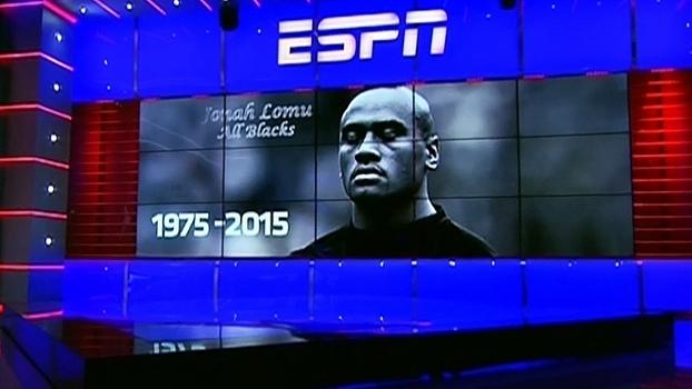 Encerramento do 'SportsCenter' da Argentina homenageou Jonah Lomu