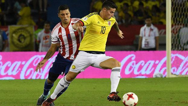Paraguai vira contra Colômbia fora de casa, e Chile vence o Equador