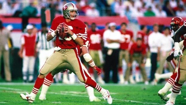 54011d354 Joe Montana está no time ideal do Super Bowl segundo o Hall da Fama