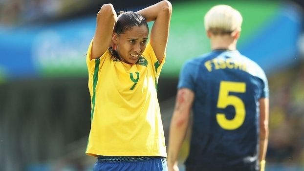 Andressa Alves Brasil Suecia Futebol Feminino Rio-2016 16/08/2016