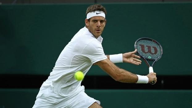 Del Potro passou por Wawrinka em Wimbledon