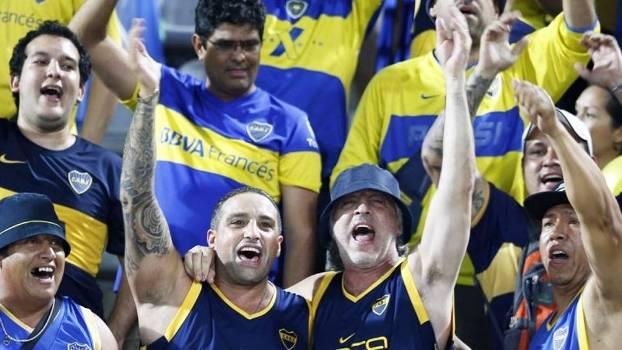 Rafael Di Zeo Mauro Martin La 12 La Doce Boca Juniors Zamora Libertadores 17/03/2015
