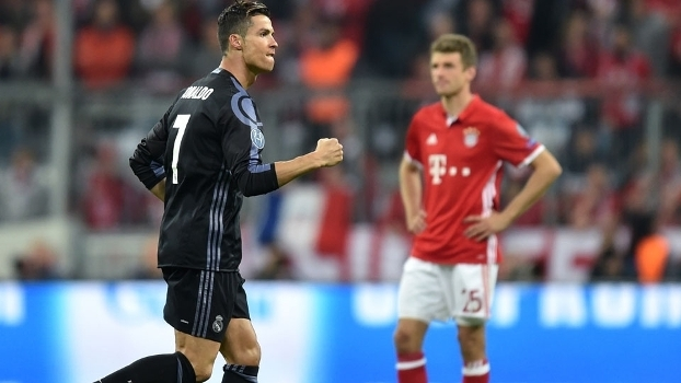 Cristiano Ronaldo marcou pela segunda vez contra o Bayern na Champions 9283bb9f6f535