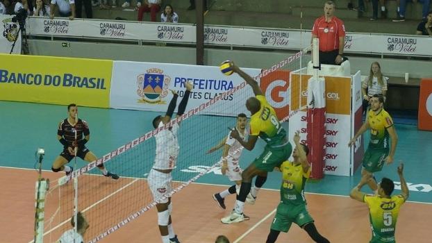 Montes Claros superou o Caramuru pela Superliga