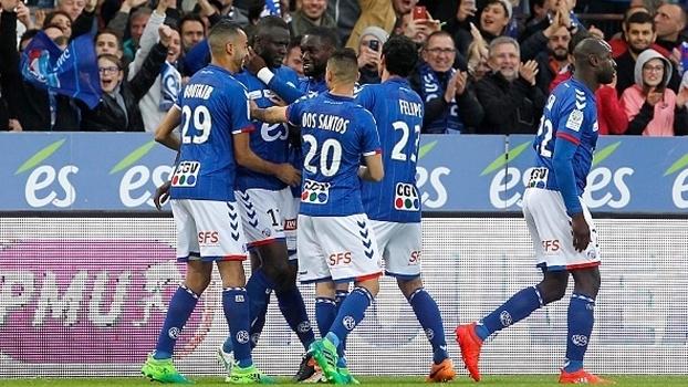 Strasbourg foi campeão da segunda divisão francesa