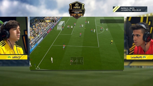 Rafifa13 e Lucasrep98 disputaram a final do regional de Miami do FIFA 17 Ultimate Team Championship Series.