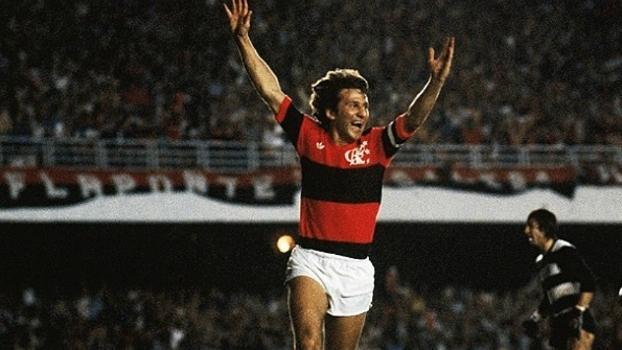 Zico recorda 27 anos de último jogo com a camisa do Flamengo - ESPN