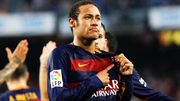 Neymar comemora após gol antológico  um artista do imprevisível 96f480ef736bb