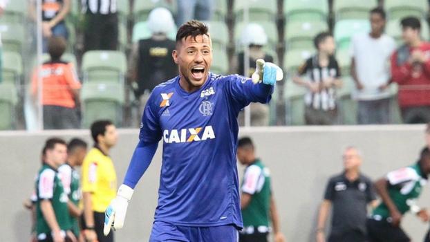 Diego Alves diz que tem uma  testemunha  a seu favor no confronto ... d5d5614275bfb