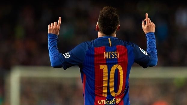 Messi ultrapassou a barreira de 40 gols na temporada