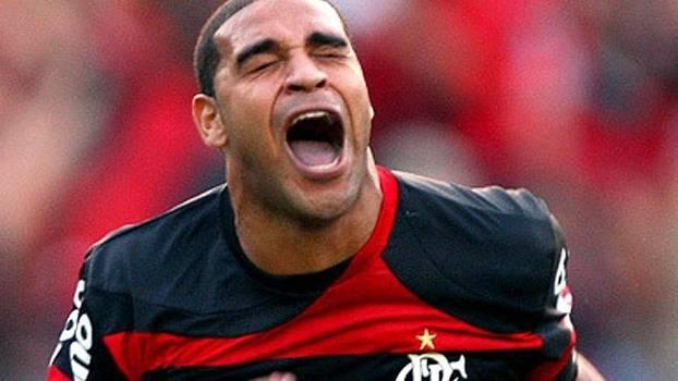 Adriano quer R$ 1 milhão do Fla