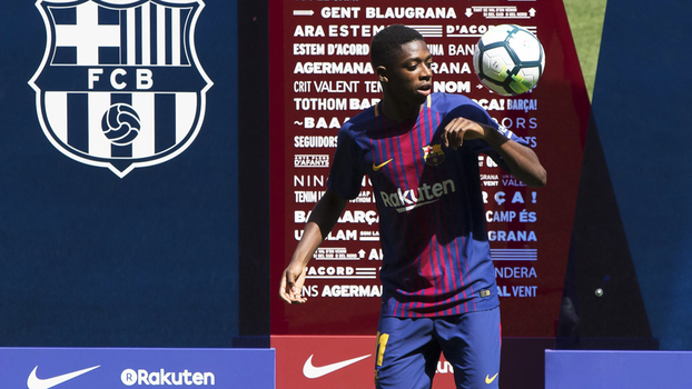Dembélé diz que não é  novo Neymar    Ele é um dos melhores ... 70eb1dbd97348
