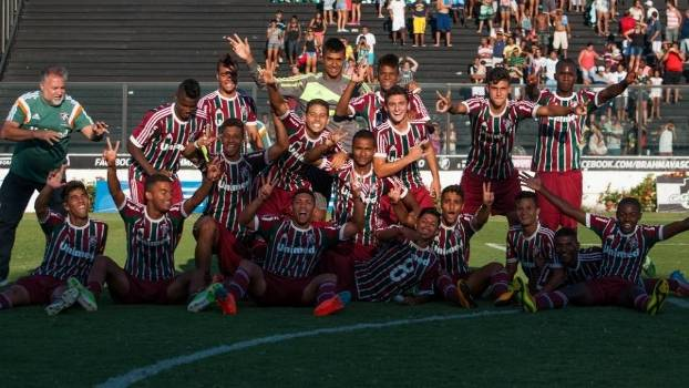 Equipe sub-17 do Fluminense disputará a Taça BH