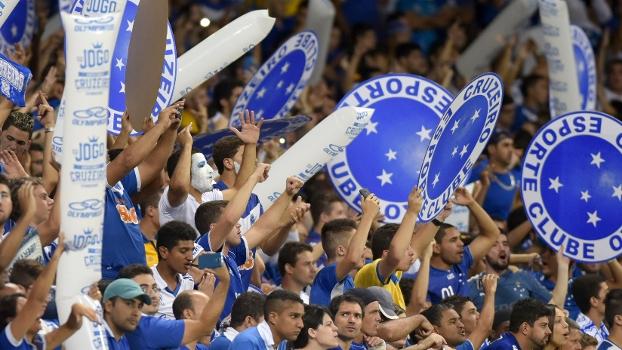 A equipe do Atlético-MG comemora a conquista da Copa do Brasil no estádio  do Mineirão em Belo Horizonte - Douglas Magno / AFP