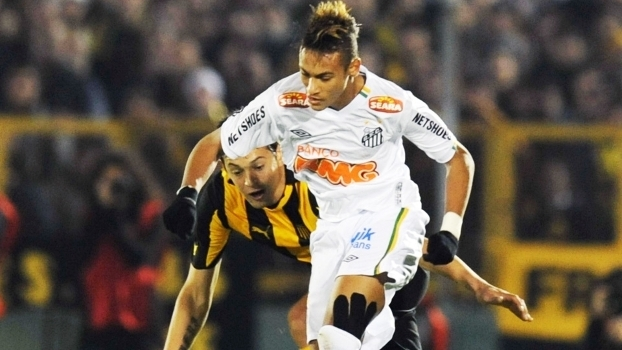 Neymar Santos Matias Mier Penarol Final Libertadores 15/07/2011