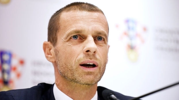 Aleksander Ceferin, presiente da Uefa: entidade não aprovou mudança na Copa do Mundo