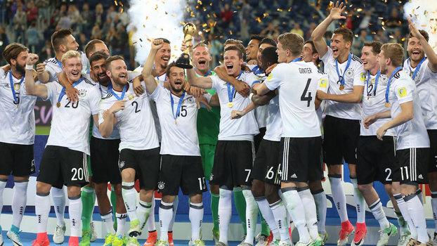 Alemanha conquistou a Copa das Confederações pela primeira vez e17ce00b7dc34