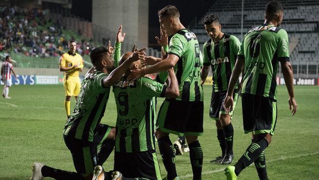 América-MG empata com o Criciúma e pode perder liderança para Inter