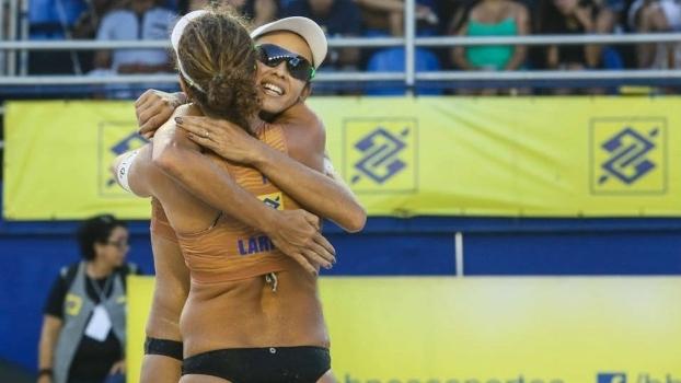 Larissa e Talita seguem fortes no Circuito Brasileiro