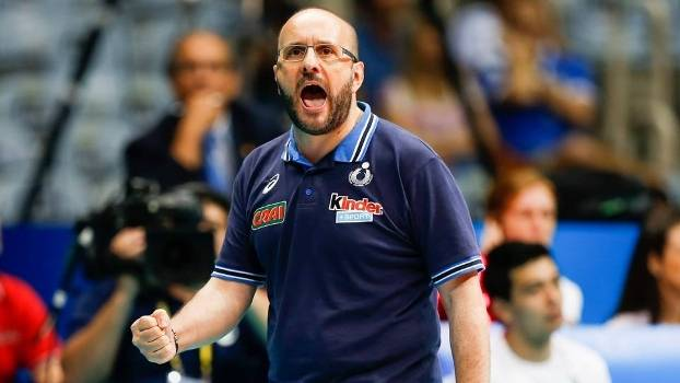 Mauro Berruto não é mais técnico da seleção italiana de vôlei