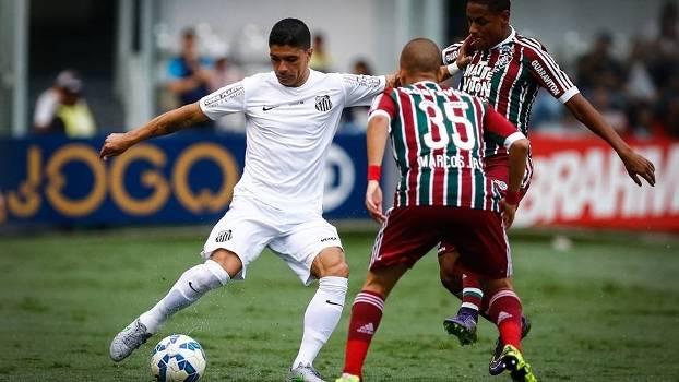 Santos x Fluminense - Brasleirão 2016