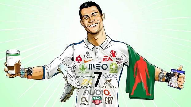 O mundo estranho e maravilhoso dos patrocínios de Cristiano Ronaldo 6475a26c66c13