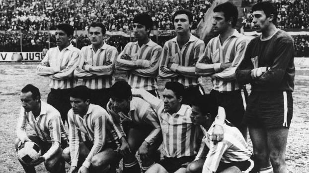 Cejas era o goleiro do time do Racing campeão da Libertadores em 1967