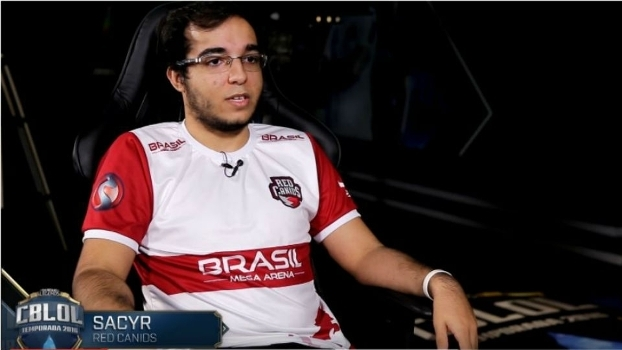 Segundo a INTZ, Sacyr gravou conversa durante visita para pagamento de premiação referente a 2015, quando ainda era jogador a INTZ Red