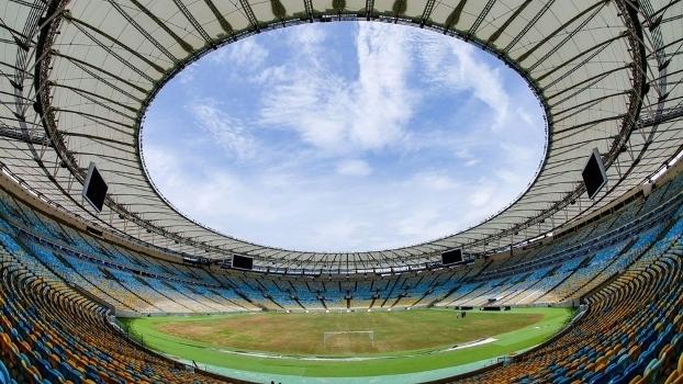 Maracanã é o maior estádio do Brasil com capacidade para 78 mil pessoas