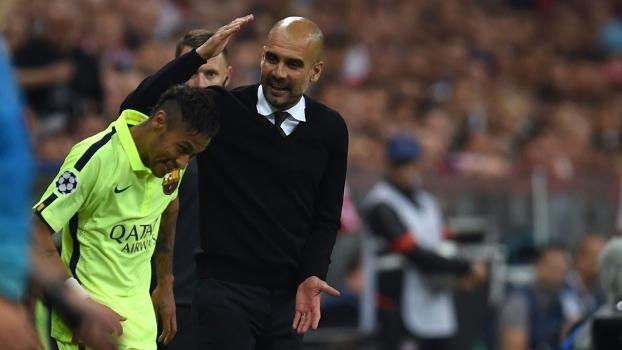 Guardiola quer ter Neymar no Manchester City