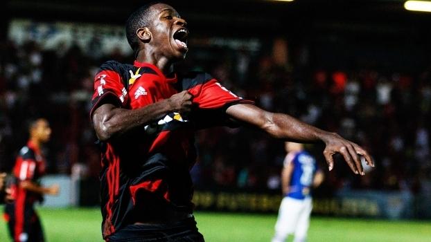 Vinicius Junior Comemora Gol Flamengo Cruzeiro Copa SP Copinha 15/01/2017