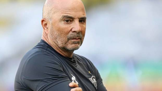 Jorge Sampaoli, técnico do Atlético-MG