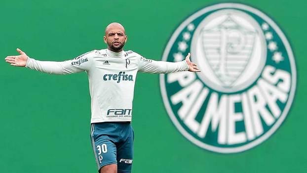 389a580756 Felipe Melo iniciou 2018 com ótimo desempenho com a camisa do Palmeiras