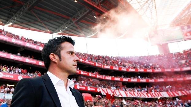Marco Silva Tecnico Estoril Benfica Campeonato Portugues 31/08/2014