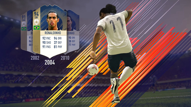FIFA 18 revela as histórias dos ídolos do FUT