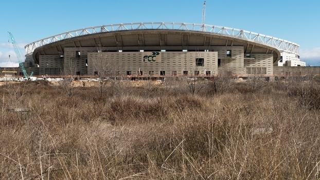 Atlético de Madrid compra nova 'casa' para jogar na próxima época