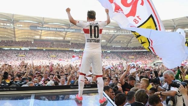 Stuttgart ganhou a 2ª divisão e está de volta à elite