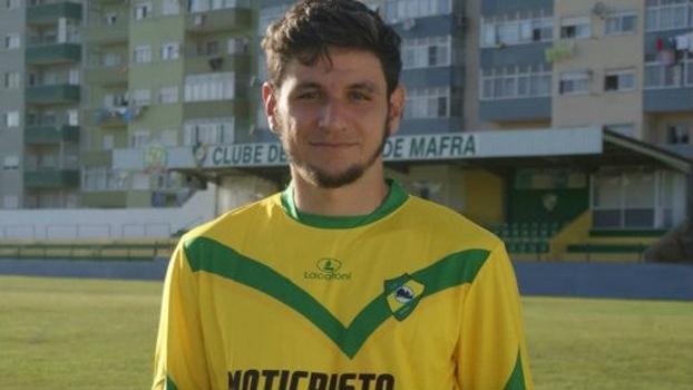 Lucas Morelatto defende o Mafra, clube da terceira divisão portuguesa