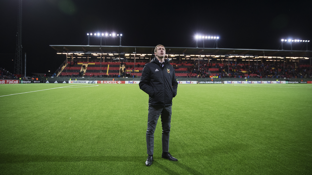 Potter contempla estádio do Ostersunds