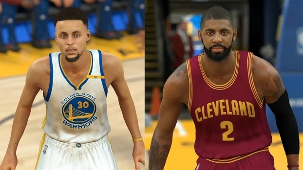 Armadores: Stephen Curry e Kyrie Irving.
