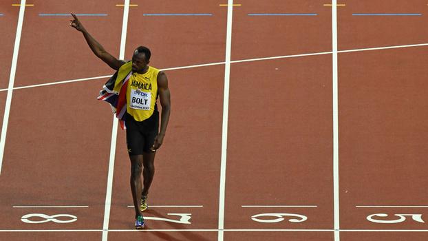 Usain Bolt está se aposentando das pistas